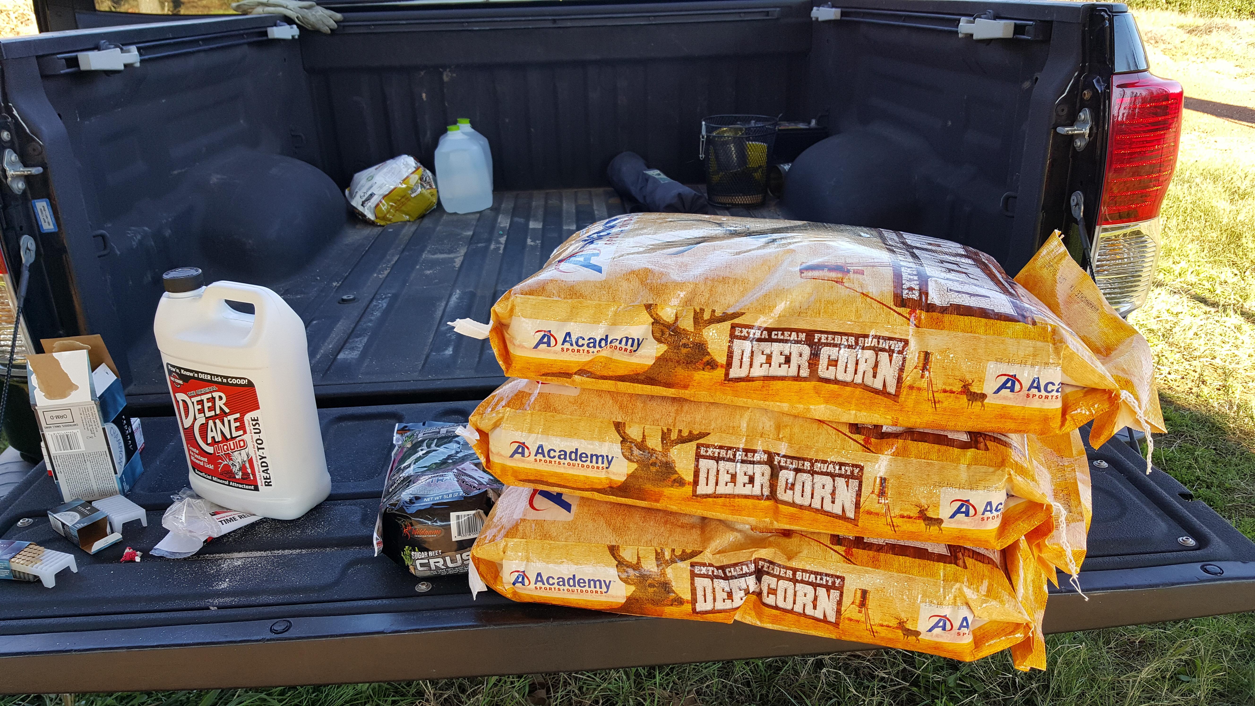 Academy Deer Corn – A Little Ranch in Texas
